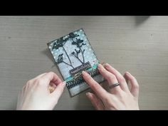 MbS Pattern Paper Birthday card - YouTube