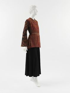 Jacket (image 1) | House of Poiret | French | 1912 | wool, cotton, rayon | Metropolitan Museum of Art | Accession Number: 2005.203