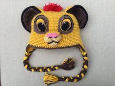 The Lion Kion hat Lion Simba lion King the Lion by Ambercraftstore  Handschuhe 2f79f76edac