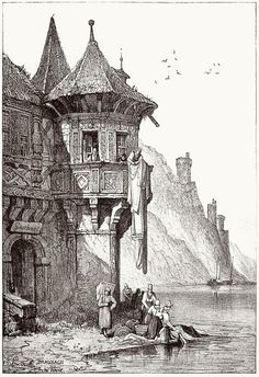 Samuel Prout, from Sketches by Samuel Prout, by Charles Holme, London, 1915.