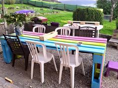 Rainbow table from pallets