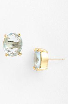 kate spade new york - oval stud earrings
