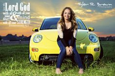 @Shelby Woodard - Lone Star High School - Class of 2014 - #seniorportraits - Senior Model Rep - Senior Pics - Senior Photos - Senior Photography - Senior Picture Poses for Girls - Senior Pictures - Sunset - VW Beetle - Car - VW Bug - @Whitney Stiles - Tyler R. Brown Photography