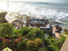 Rock Bar-Jimbaran Bay-Bali. Amazing location.