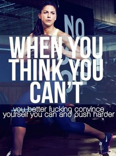 Get fit motivation. Find more like this at gympins.com