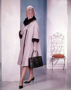 From That Touch of Mink with Cary Grant. Love  Doris, Cary, the clothes, and the movie.