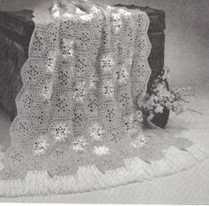 Ice Crystals Afghan... Free pattern!...This is a vintage pattern!