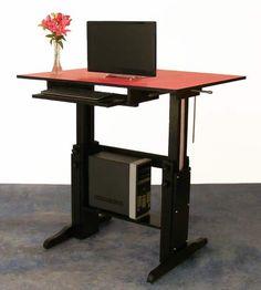 Diy Standing Desk On Pinterest Standing Desks Stand Up