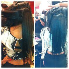 Relaxed Hair Health, it can happen Relaxed Hair Health, Long Relaxed Hair, Healthy Relaxed Hair, Healthy Hair, Hair Inspo, Hair Inspiration, Hype Hair, Hair Growth Tips, Hair Tips