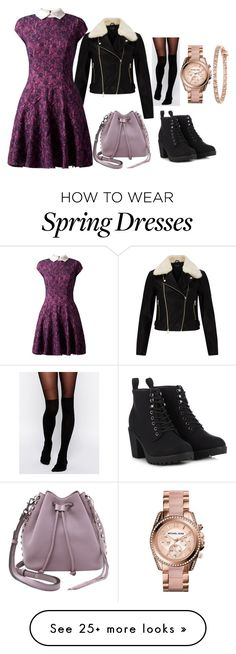 """Untitled #272"" by girlyunusual on Polyvore featuring ASOS, Miss Selfridge, Almari, Call it SPRING, Michael Kors and Rebecca Minkoff"