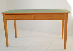 Upcycled VIntage Desk. http://www.themintlist.com/product/upcycled-vintage-desk