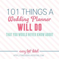 So some of you may or may not know that I used to be a wedding planner. It's why I talk about wedding planning things all the time. ;) I do also still coordinate weddings with friends throughout the year, and one wedding this past spring was a doozy. There were SO many things that …