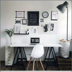 35 wonderful home office design ideas 32 Home Office Space, Home Office Design, Home Office Decor, Home Decor, Office Ideas, Loft Office, Study Room Decor, Cute Room Decor, Bedroom Decor