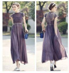 Heather chiffon dress