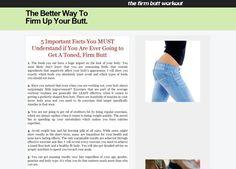 Better shaped butt workout We Love 2 Promote http://welove2promote.com/product/better-shaped-butt-workout/    #makemoneyonline