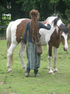 I like the clothes......and the horse