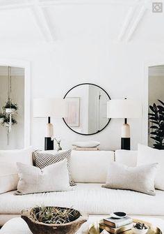 Living room decor, home decor ideas, interior design