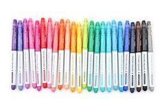 24 Pilot FriXion Colors Erasable Marker Pens 24 by DavesSupplies Erasable Highlighters, Projekt Mc2, Best Highlighter, Fine Pens, Jet Pens, Cute School Supplies, Marker Pen, School Supplies, Shopping