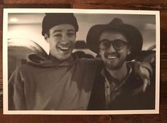Two Tom's:) Gustin and Felton