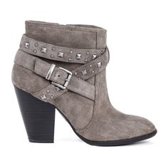 Lovely Grey Booties