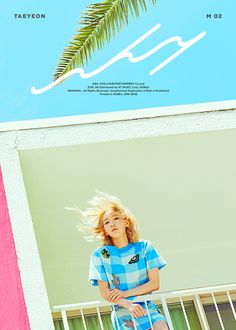 TaeYeon - WHY. kpop, album cover, editorial, graphic design, photography