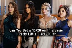 Can You Get a 15/20 on This Basic 'Pretty Little Liars' Quiz? - Got a secret can you keep it — and ace this quiz? - Quiz