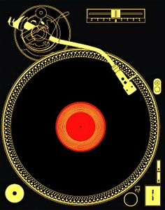 The world of vinyl Vinyl Music, Vinyl Art, Vinyl Records, House Music, Music Is Life, Vynil, Geile T-shirts, Plakat Design, Dj Equipment