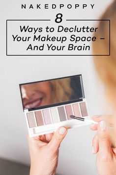 8 Ways to Declutter Your Makeup Space – And Your Brain - A makeup drawer is just one, tiny example of the overstimulation and disorganization we experience every day. Our brains are constantly bombarded with information and stimulation. Home Design, Natural Hair Mask, Face Mapping, Makeup Drawer, How To Grow Eyebrows, Clean Beauty, Beauty Tips, Beauty Care, Beauty Hacks