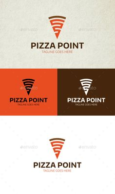 Pizza Point Logo — Vector EPS #pizza #bake • Available here → https://graphicriver.net/item/pizza-point-logo/15385532?ref=pxcr