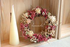 Christmas Wreaths, Merry Christmas, Xmas, Garden Design, House Design, Flower Art, Art Flowers, Diy Wreath, Dried Flowers