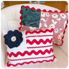 ric rac pillows