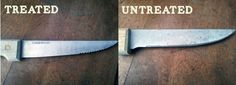 How to Remove Rust from Kitchen Knives