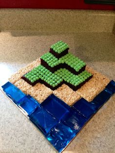 Homemade Minecraft Cakes on Pinterest