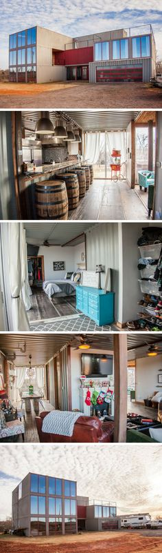 YOUNG SHIPPING CONTAINER HOUSE