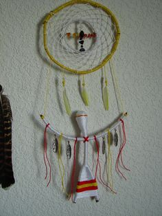 Combined classic and siberian dream catchers