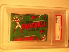 1956 Topps 1 Cent Football Wax Pack PSA Mint 9 NFL Cards Rare SMR Population 9 #NFLCollectibles