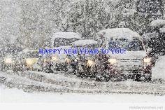 Happy new year amazing snow wish