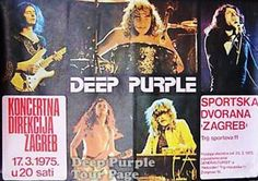 1975-03-17 Deep Purple - Zagreb, Yugoslavia