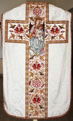 Chasuble Dutch Production: C.H. de Vries, Amsterdam Date: 1897