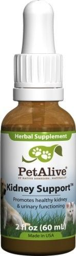 Native Remedies Petalive Kidney Support Promotes Healthy Cat And Dog Kidneys And Urinary Functioning (60ml)