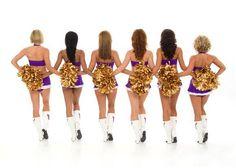 Minnesota Vikings Cheerleaders :) #cheer #Minnesota #Vikings #2009
