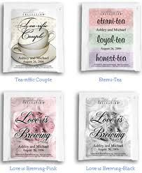 tea bag wedding favours - Google Search