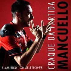 E adivinha quem a Nação escolheu como craque da vitória contra o Atlético-PR? O dono da letra, @mancuello!
