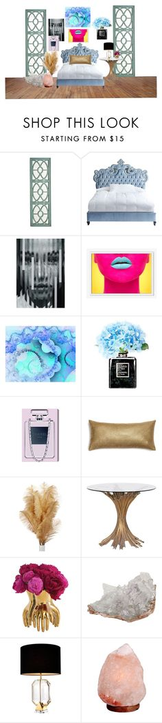"""homeeee"" by emilypaget-1 on Polyvore featuring interior, interiors, interior design, home, home decor, interior decorating, Pier 1 Imports, Haute House, West Elm and Chanel"