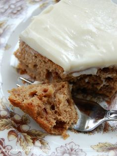 Harvest Apple Spice Cake - Uses a box mix. really easy and really yummy. I added spices to a white cake mix because I didn't have a spice cake mix. I also used fresh apples instead of canned filling. Will make again :)