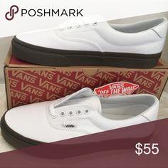 9ecc964ffc1e28 vans era 59(bleacher)true white gum 5 17 men9.5 Vans Shoes Sneakers