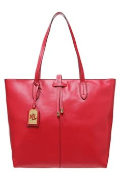 Lauren Ralph Lauren CRAWLEY  - Tote bag - red £170.00 # #style #ClothingSale