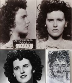 "1947 - The brutalized corpse of Elizabeth Short (""The Black Dahlia"") is found in Leimert Park, Los Angeles, California. 