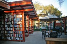 Bart's Books-Ojai, California The idea for Bart's Books began when, in 1964, the owner moved his bursting bookshelves outside so those walking past his house could check out the titles, which were sold on the honor system through coffee cans. Today, the largest independent outdoor bookstore in the U.S. sells everything from those honor-system copies to thousand-dollar art volumes. The doorway leads to more outdoor books, and every corner you turn will result in new literary discoveries, like…