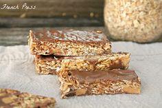 French Press: Peanut Butter Cup no-bake Granola Bars